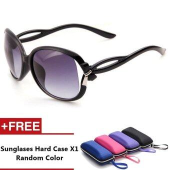 Praga Brand Unisex Retro Aluminum Sunglasses Polarized Lens VintageEyewear Accessories Sun Glasses For Women (Grey)