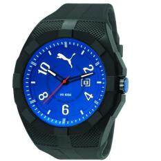 puma watches for the best prices in puma pu103501008 iconic black blue pu strap men watch