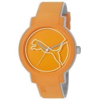 puma pu911181002 swing orange pu strap men watch lazada puma pu911181002 swing orange pu strap men watch