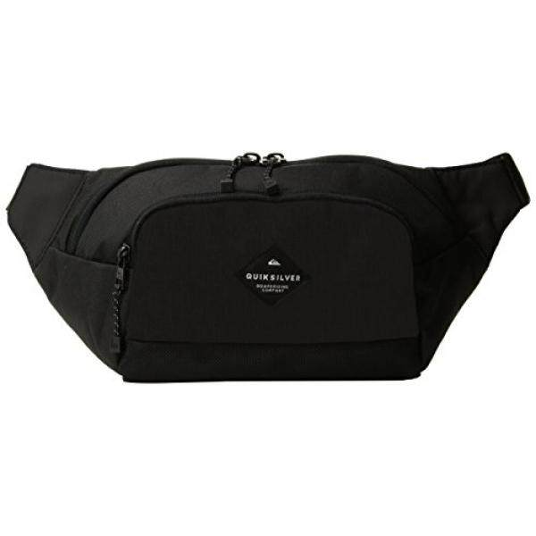 Quiksilver Young Men's Lone Walker Waist Fanny Pack Accessory, -black, One Size - intl