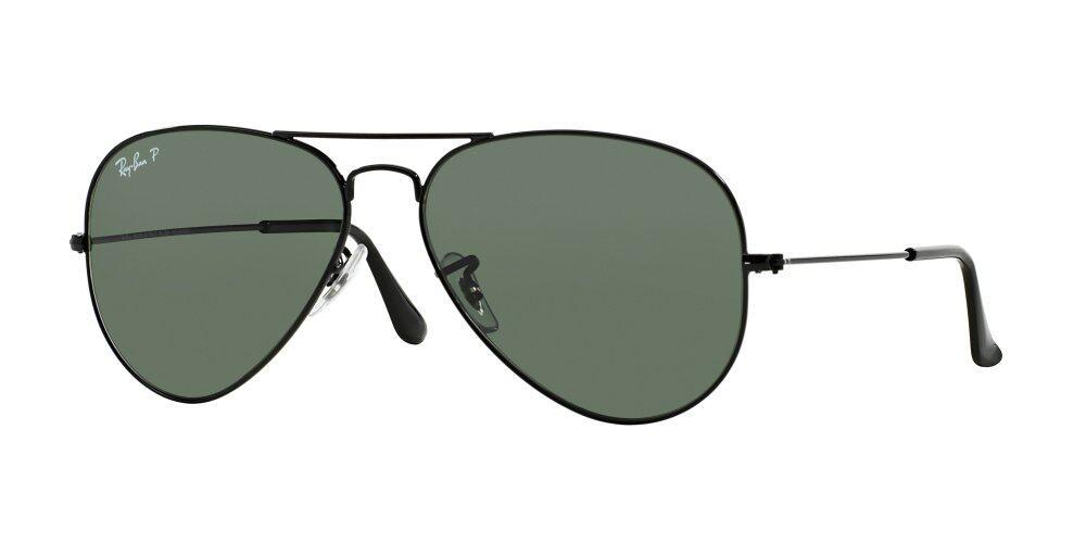 ray ban aviator polarized sunglasses x6c8  RAY-BAN AVIATOR LARGE METAL CRYSTAL GREEN POLARIZED Polarized Lenses RB3025  002/58 MAN SUNGLASS  Lazada Malaysia