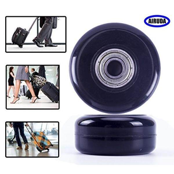 Replacement Wheels For Luggage, DIY Wheels for Most Luggage Quiet and Smooth Wheels Perfect fit for Samsonite Luggage, Rimowa Luggage and Ricardo Luggage(Set of 2)(50×22mm) - intl