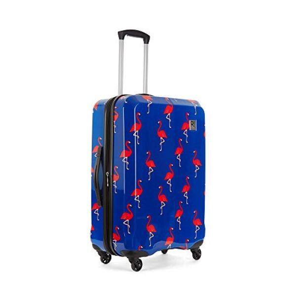 Revelation! Maluku Bq Max Flamingos Hardside Navy 27 Expandable, Color: Multi, Size: - intl