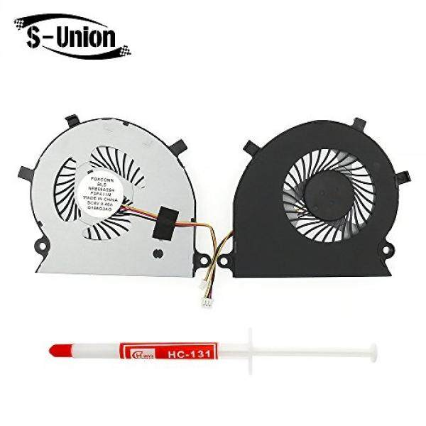 S-Union New Laptop CPU Cooling Fan For Toshiba Satellite Radius P55W-B P55W-B5112 P55W-B5318 P55W-B5220 P55W-B5224 Series Replacement P/N:B0705R5H With Thermal Grease - intl