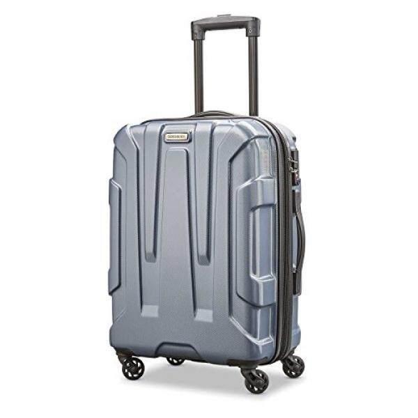 Samsonite Centric Hardside 20 Carry-On Luggage, Blue Slate - intl