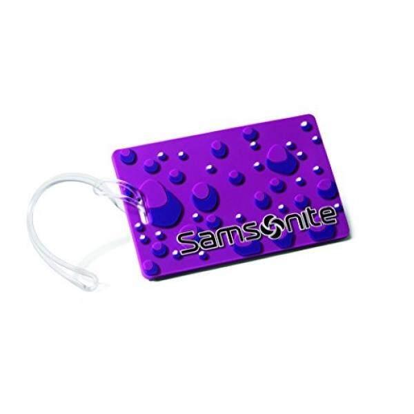 Samsonite Designer Id Tags, Purple Bubble - intl