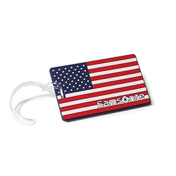 Samsonite Designer Luggage Id Tags, American Flag - intl