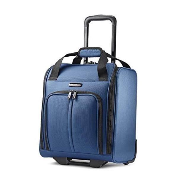 Samsonite Leverage LTE Wheeled Boarding Bag, Poseidon Blue - intl