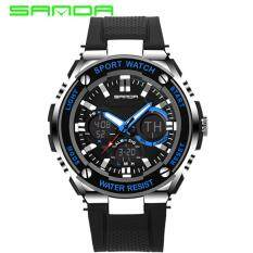 Dual Time Source · SANDA 733 Waterproof Outdoor Multifunctional Sports Men s Quality .