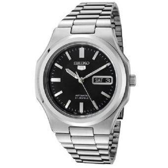 Seiko 5 SNKK47K1 Automatic Gents Stainless Steel Watch (Silver & Black)