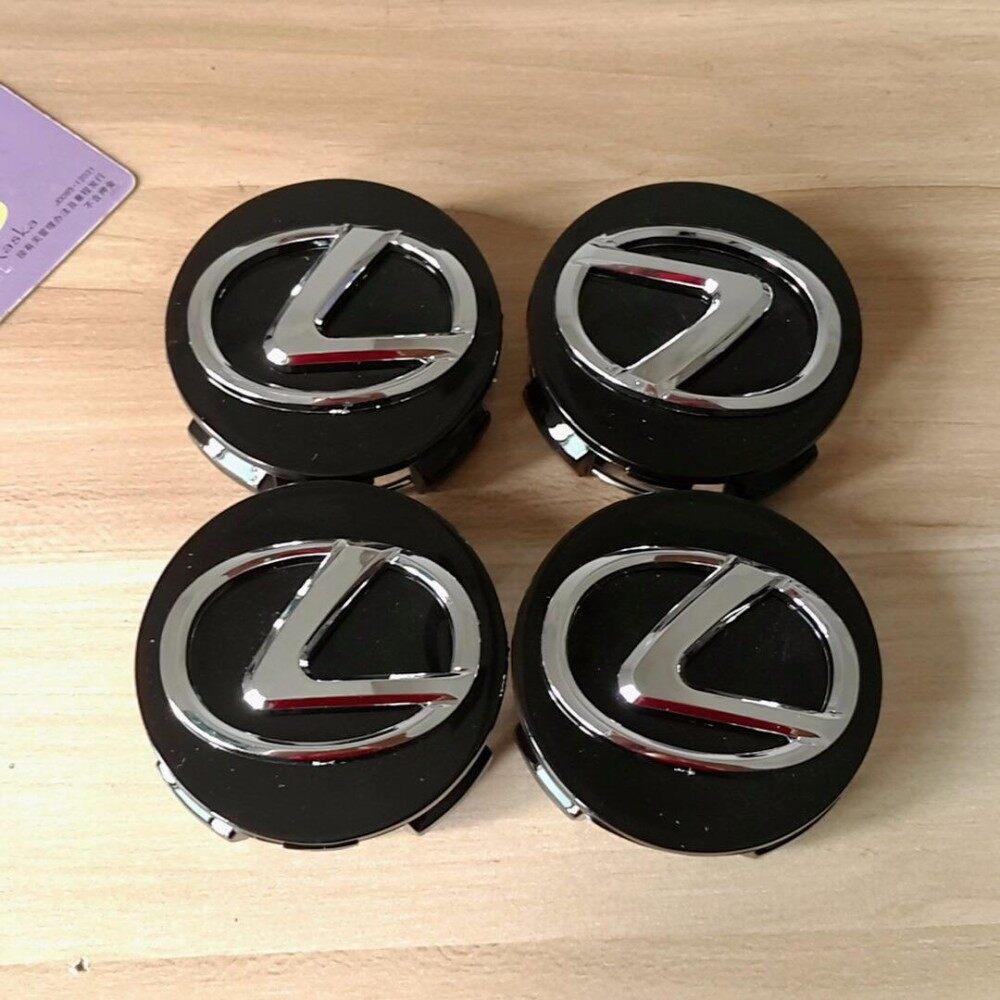 Set of 4 lexus GS400 430 RX300 ES300 LS430 Black OEM Wheel Center Caps Hubcaps - intl