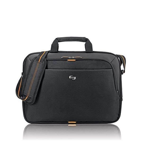 Solo Ace 15.6 Inch Laptop Slim Brief, Black - intl
