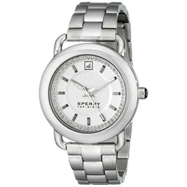 Sperry Top-Sider Womens 10014926 Hayden Stainless Steel Watch - intl