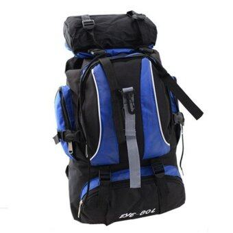 Sports Cam Backpack for Hiking nad Camping - Blue