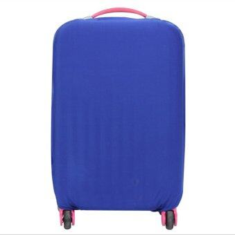 Stretchable Elastic Travel Luggage Suitcase Protective Cover- Blue