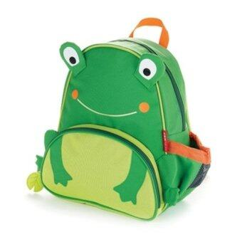 TEEMI Animal Design School Bag Preschool Backpack for Kids Children - Green Froggie