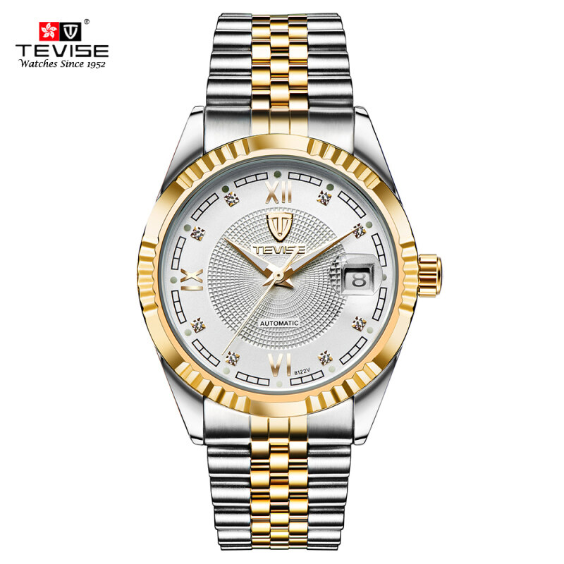 TEVISE Top Brand Men Fashion Luxury Waterproof Wristwatch Automatic Mechanical Watch Business Mens Watches Malaysia