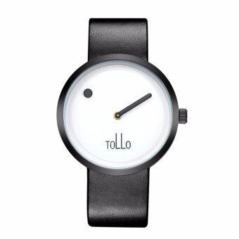 TOLLO Unisex Minimalist Monochrome Watch FREE Watch Box