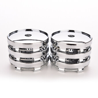 Universal Chrome Car Wheel Center Hub Cover Plastic