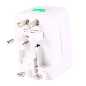 Universal World Charger Plug Sockets All-in-one Travel AC PowerSocket Adapter Converter to US/UK/AU/EU