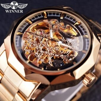 Winner Watch Men Skeleton Automatic Mechanical Watch gold skeletonvintage skeleton man watch Mens Watch Top Brand Luxury