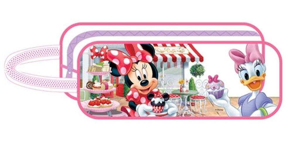 Disney Minnie Square Pencil Bag Set