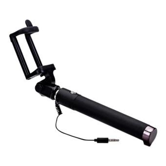 amart extendable handheld selfie stick monopod tripod for withbuilt in shutter black lazada. Black Bedroom Furniture Sets. Home Design Ideas