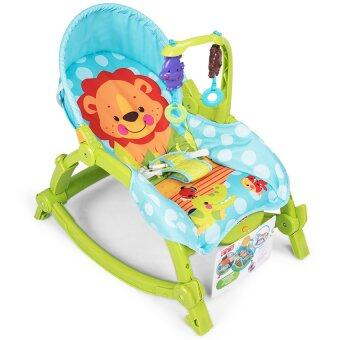 Baby Throne Newborn to Toddler Portable Musical Rocking