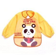 Baby Waterproof Anti-Dressed Bib - Panda