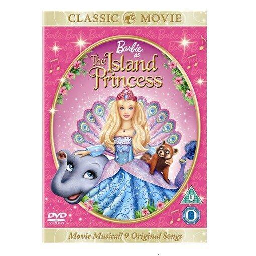 Barbie As The Island Princess - DVD