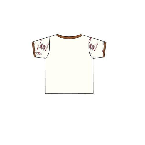 Barney And Friends Dotted Casual Short Sleeve 100% Cotton 0mth to 2yrs - Brown Colour