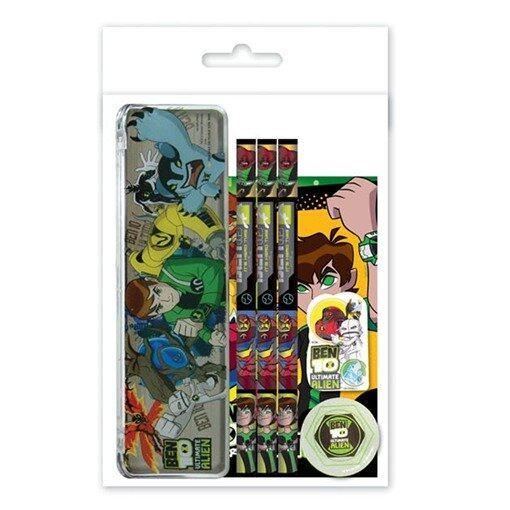 Ben 10 Stationery Set - Green Colour