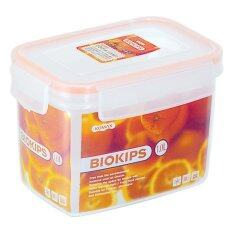 Biokips Container Rect R12 1L