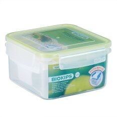 Biokips Container Square With Plate Sp21 1.1L