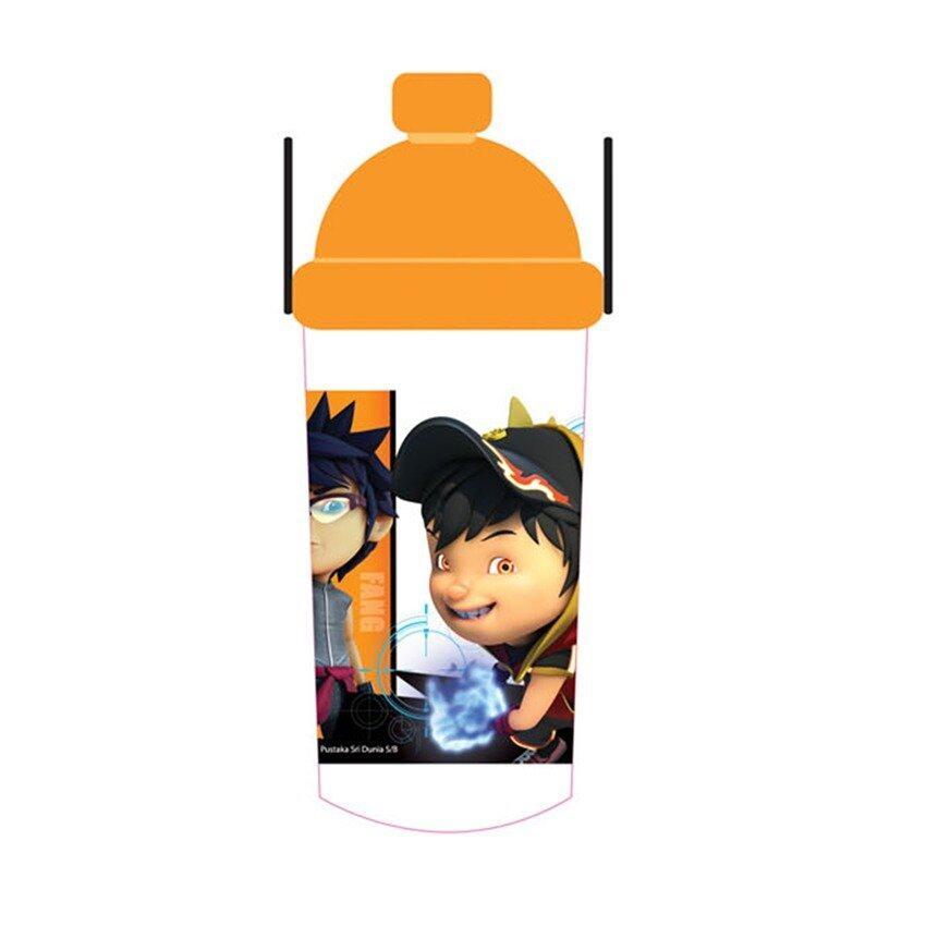 BoBoiBoy 350ML Water Bottle - Orange Colour