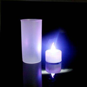buyincoins led electronic candlelight wedding party candle 7 color