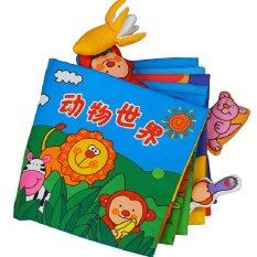 Cloth Book - Animals World 0-3 years old