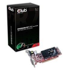 Club3D Radeon R7 250 1GB GDDR5 Micro HDMI/DVI-I/Mini DP Low ProfilePCI ...
