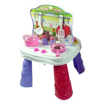 Ct toys kitchen dresser 2 in 1 playset lazada malaysia for Toy kitchen table