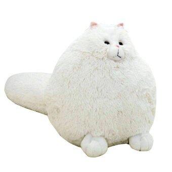 Cute Big Cat Plush Toy Pillow : Cute Big Cat Plush Huggable Toy Pillow Lazada Malaysia