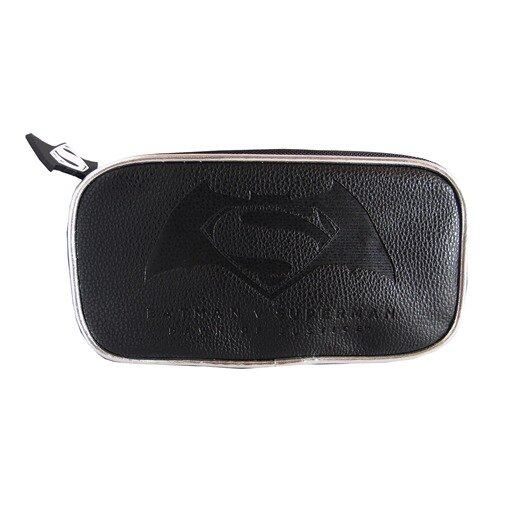 DC Comics Batman VS Superman PU Pencil Case - Black Colour