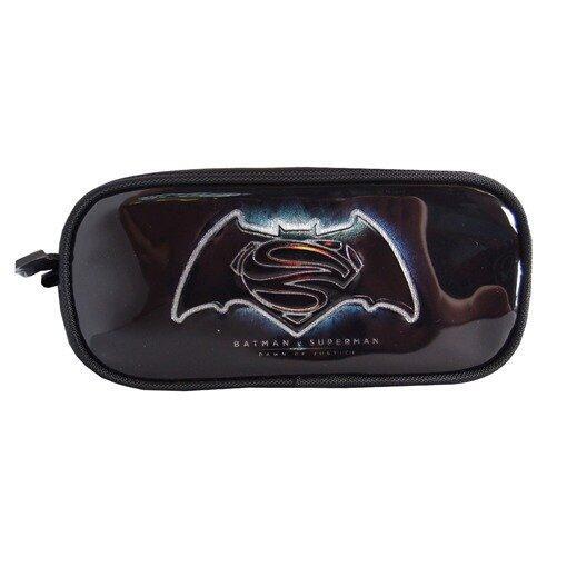 DC Comics Batman VS Superman PVC Pencil Case - Black Colour
