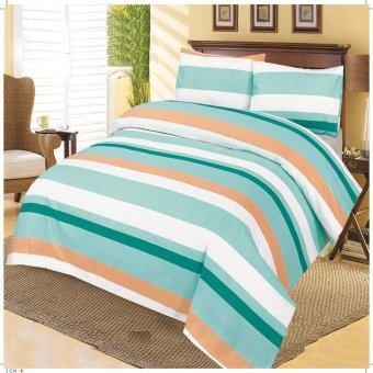 """Delux Fitted Bed Sheet Set 12"""" high 360 TC SC 65"""