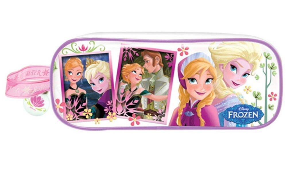 Disney Frozen Girl's Square Pencil Bag Set