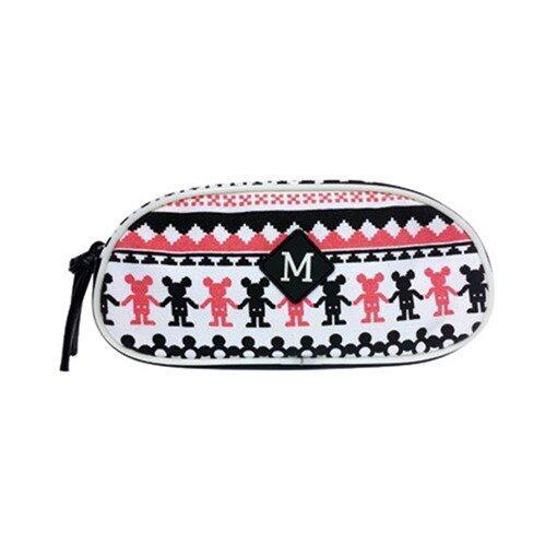 Disney Mickey Oval Pencil Bag - White Colour