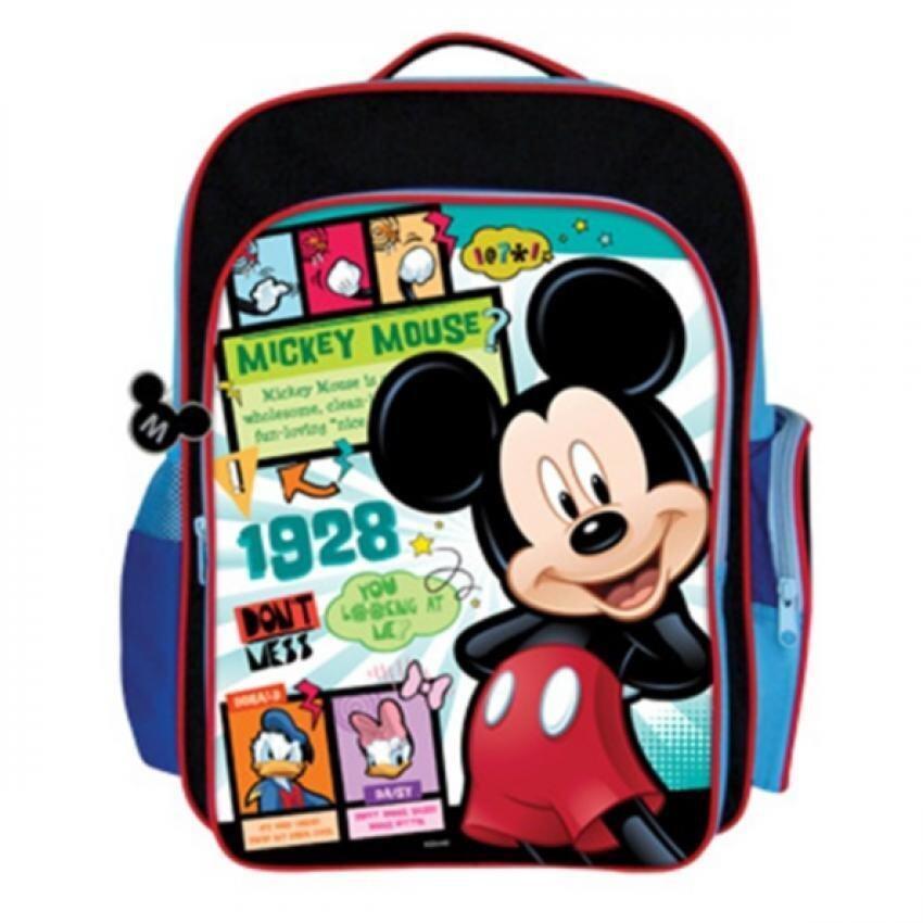 Disney Mickey School Bag - Blue Colour