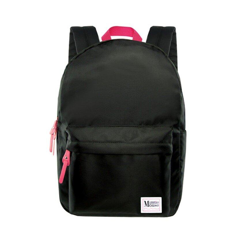 Disney Minnie Adult Backpack School Bag - Black Colour