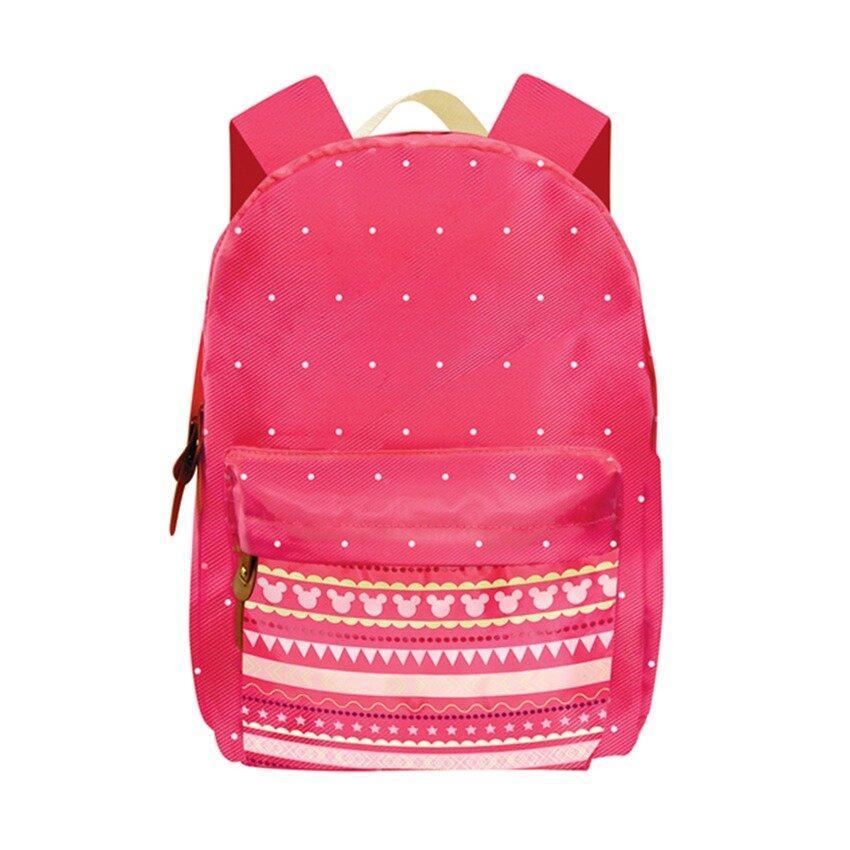 Disney Minnie Adult Backpack School Bag - Pink Colour