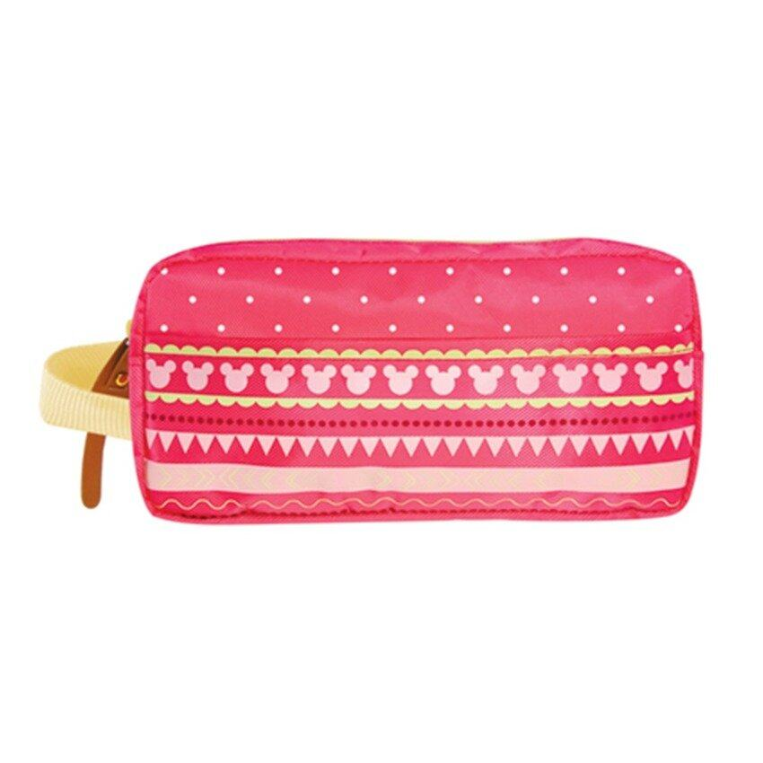 Disney Minnie Adult Square Pencil Bag - Pink Colour