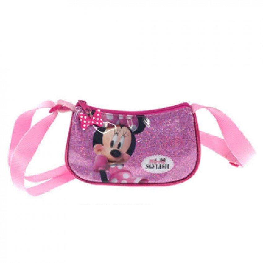 Disney Minnie Sling Bag - Pink Colour